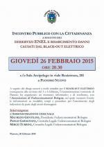 Richieste di indennizzo dalle nevicate: Monterenzio e Pianoro incontrano i cittadini per affiancarli nelle richieste di rimborso