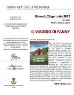 """In occasione della Giornata della Memoria, giovedì 26 gennaio il film """"Il viaggio di Fanny"""" al Cinema Vittoria"""