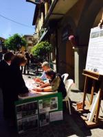 In un giorno raccolte 97 firme. Grande soddisfazione dei Comitati 'no-cave'