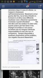 """Giovanni Maestrami: """"nessuna responsabilità con questa Amministrazione"""""""