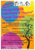Sabato 26 settembre al Canile Savena inaugurazione dell'infermeria e dei nuovi lavori di ristrutturazione