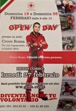 Lunedì 27 febbraio a Loiano  inizio del Corso per diventare volontario della Croce Rossa. Domenica 19 e domenica 26 'Open Day'