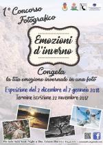 """Dal 2 dicembre al 7 gennaio """"1° Concorso Fotografico Emozioni d'inverno"""""""