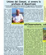 """""""Sull'Unione la Carpani e gli altri sindaci non ci fanno una bella figura"""". Intervista a Giovanni Maestrami sul mensile Valli Savena Idice"""