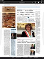 La candidata sindaco in malattia: «Quanti avvoltoi attorno a me»