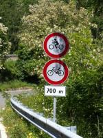 Via Barbarolo chiusa al transito di bici e motocicli