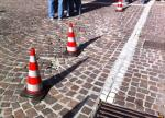 Danneggiato il manto stradale di Via Roma
