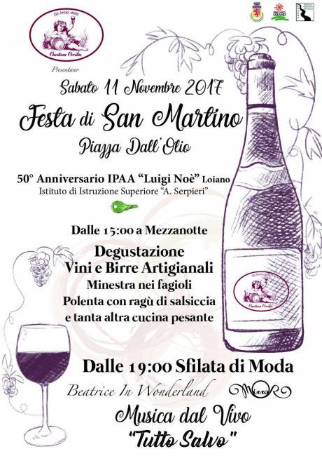 """Sabato 11 novembre """"Festa di San Martino"""" in Piazza Dal'Olio a Loiano"""