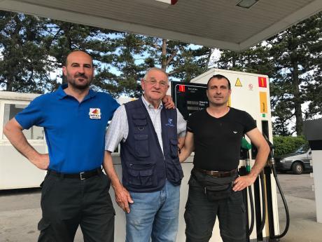 50 anni di attività per il distributore di carburanti della famiglia Giovannini