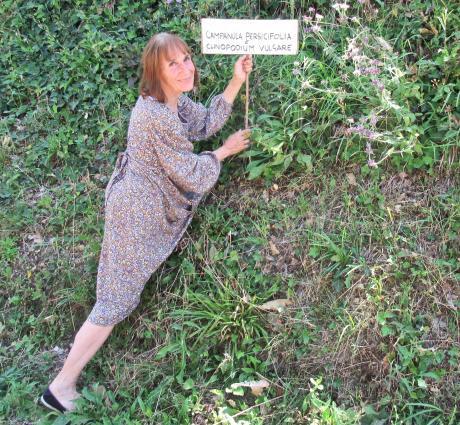 A Loiano 'I giardini dei bordi strada' grazie a Gabriella Buccioli