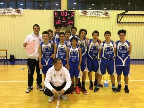 Basket Loiano 2015 seconda nel girone C. Si qualifica nei play off del campionato F.I.P regionale under 15.