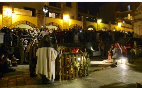 La sacra rappresentazione del  Presepe Vivente per la prima volta a Loiano
