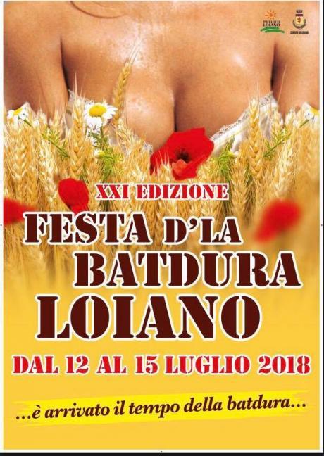 """Da giovedì 12 a domenica 15 luglio la """"Festa d'la Batdura"""" a Loiano"""