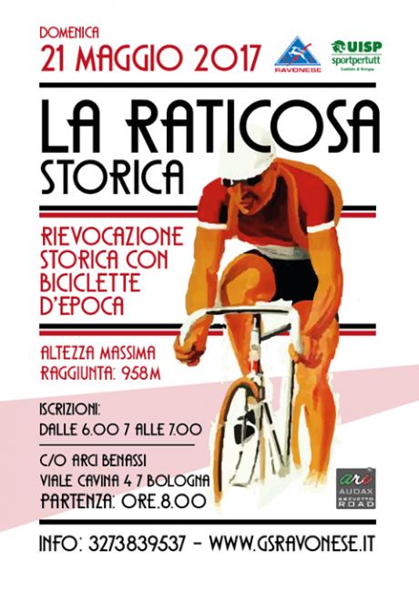 """Domenica 21 maggio seconda edizione de la """"Raticosa Storica"""""""