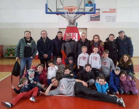 Basket, strepitosa vittoria degli Under 8 della Pallacanestro Loiano