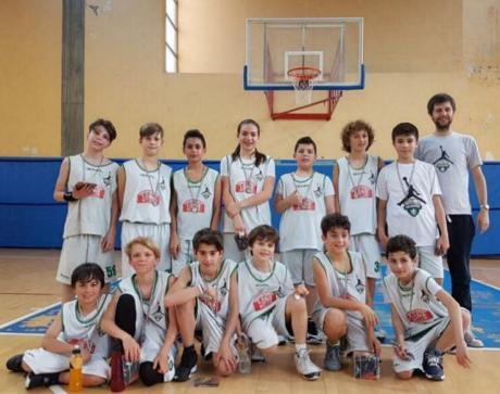 Basket, al Torneo di Forlimpopoli positiva esperienza per gli esordienti di Loiano