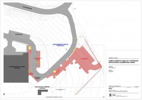 Approvato il Progetto definitivo per i lavori alla viabilità e parcheggi della nuova Scuola Elementare