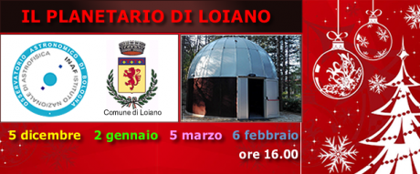 Sabato 6 febbraio visita guidata al Planetario di Loiano