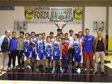 Basket Under 14, emozionante vittoria del Basket Loiano in Gara 1 dei Playoff