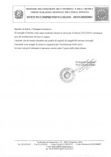 Pubblicato l'elenco completo degli eletti al Consiglio d'istituto scolastico