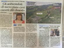 Cave, da polo turistico a 'pericolo per la stabilità del versante'