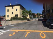 """""""Ripristinare lo specchio stradale all'incrocio viale Marconi-via Roma"""""""