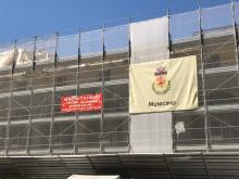 Dove vengono scaricati i detriti dei lavori al Municipio? Denuncia del M5S