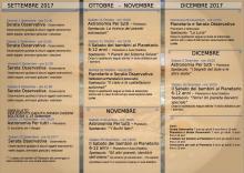 Osservatorio Astronomico di Loiano, il calendario degli eventi fino a dicembre