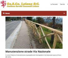 GESCO, nella sezione 'News' tutte le informazioni sulle attività in corso