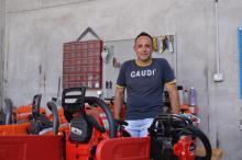 Ha inaugurato  Green Service in via del Lavoro a Loiano