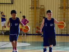 Grande basket a Loiano con Adam Filippi