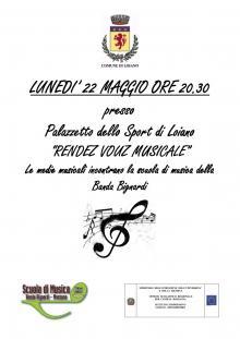 """Lunedì 22 maggio """"Rendez-vous Musicale"""", le medie musicali incontrano la scuola di musica della Banda Bignardi"""