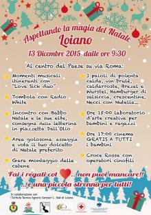 """Domenica 13 dicembre """"Aspettando la magia del Natale a Loiano"""""""