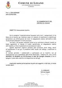 Giovedì 23 giugno l'Amministrazione incontra i commercianti di via Roma per le variazioni alla viabilità in occasione dei lavori alla scuola elementare