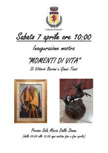 """""""Momenti di vita"""", la mostra  di  Vittorio Barioni e Gianni Tassi presso la Sala Maria Dalle Donne a Loiano"""