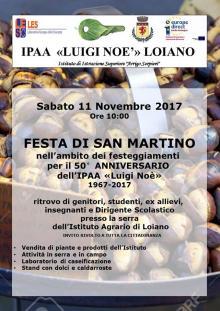 Sabato 11 novembre Festa di San Martino con l'Istituto 'Luigi Noè' di Loiano