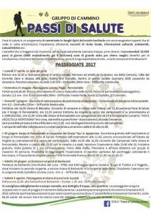 """""""Passi di Salute"""", domenica 21 maggio passeggiata Loiano-Poggi-Roncastaldo"""