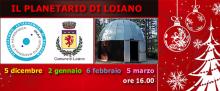 Sabato 2 gennaio 'Serata al Planetario di Loiano'