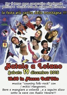 """Sabato 19 dicembre """"Natale a Loiano"""" in Piazza dall'Olio"""