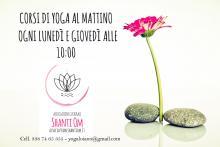 Corsi di Yoga al mattino all'Associazione Shanti Om di Loiano